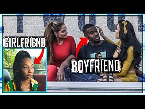 Girlfriend Catches Her Boyfriend Cheating (I SET HIM UP)