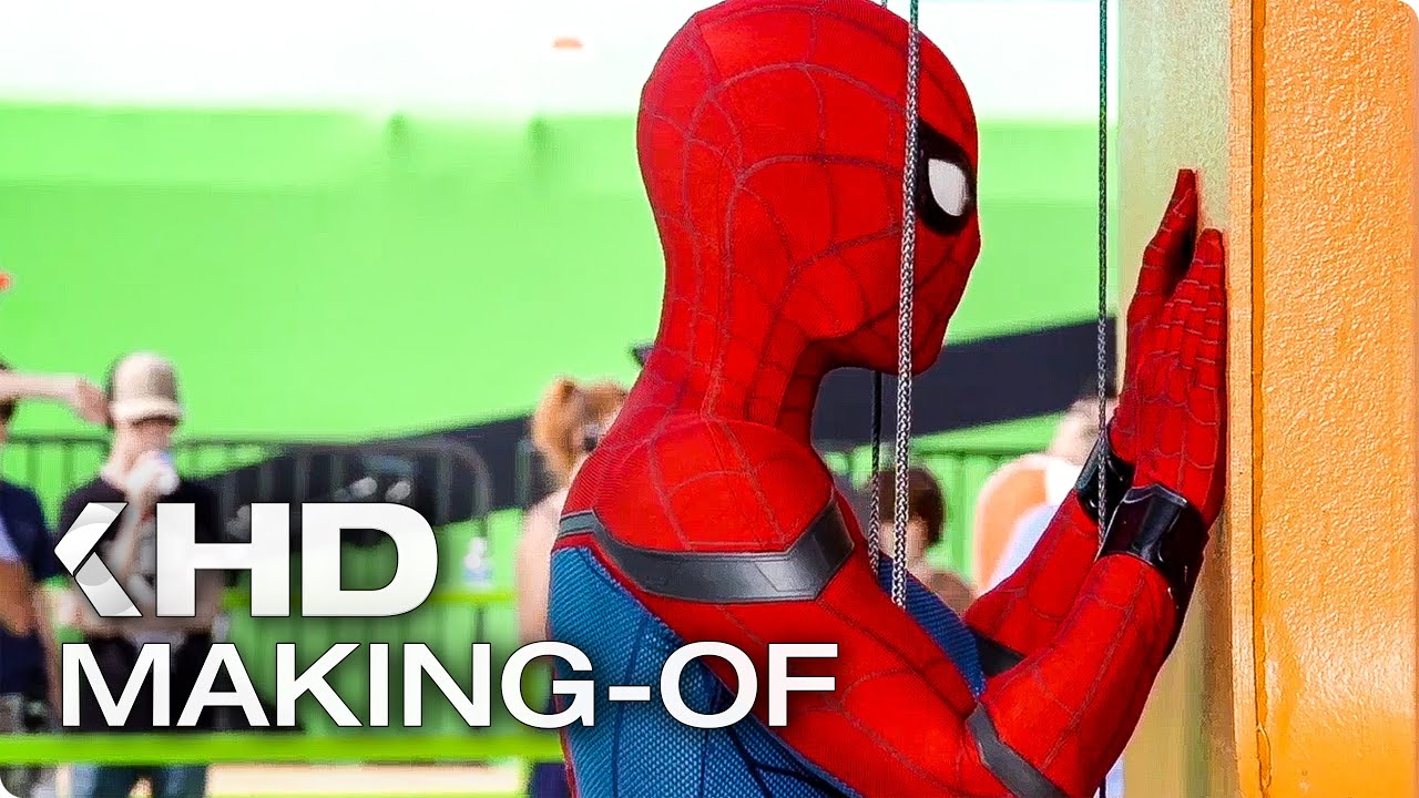 """SPIDER-MAN: Homecoming """"Crazy Stunts"""" Making-Of (2017)"""
