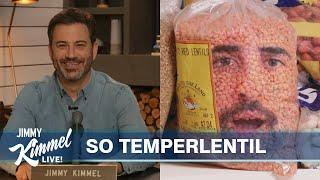 Jimmy Kimmel Talks to His Lentils (Jordan Firstman)