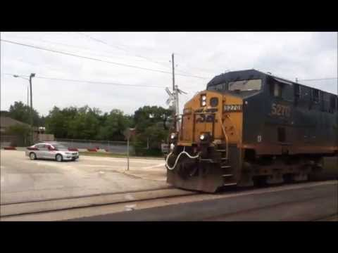 A Day Of Railfanning With CSX ,NS & Aberdeen & Rockfish