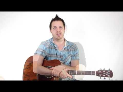 How to Play an A Sharp  B Flat A  Bb Bar Chord on Guitar 6th Fret