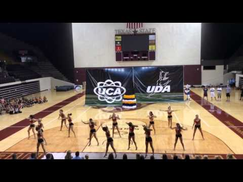 UNM Lobo Dancers Home Routine 2014