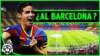 ¿ JAMES AL BARCELONA ? 500 millones de euros