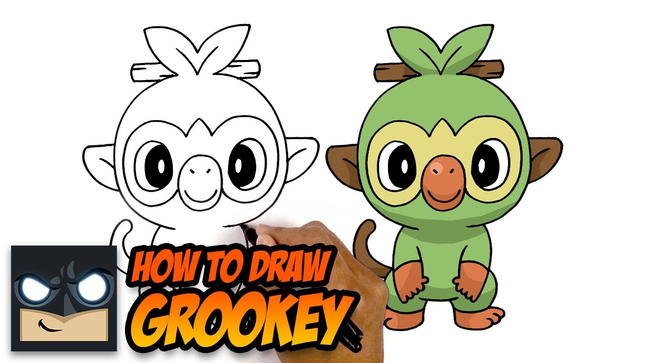 How To Draw Grookey Pokemon Sword And Shield Youtube Over 6,581 groovy pictures to choose from, with no signup needed. how to draw grookey pokemon sword and shield