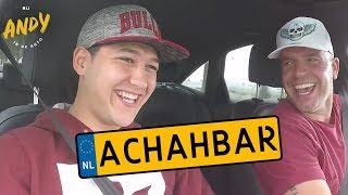 Bij Andy in de auto – Achahbar
