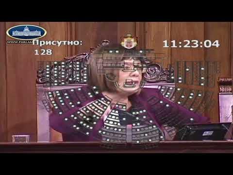 Maja Gojkovic LAZIRALA GLASANJE