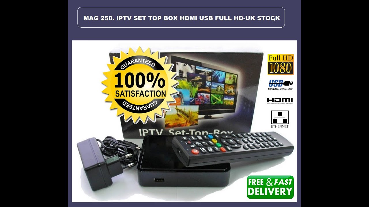 Mag 254 Micro Mpeg 4 Hd Iptv Set Top Box Uk L Just Plug