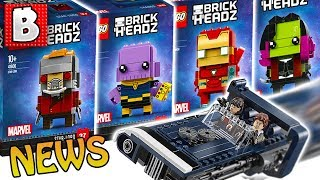 LEGO Infinity War BrickHeadz & Star Wars Solo Official IMAGES!!! | Weekly LEGO News
