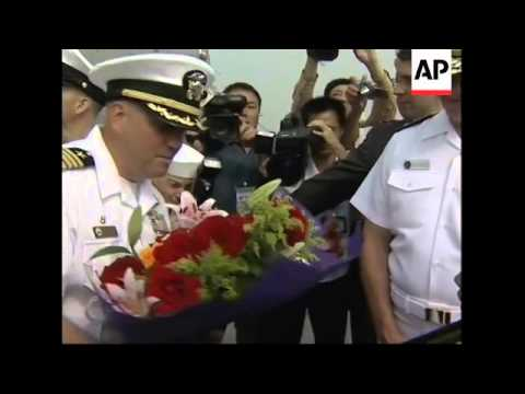 Commander of US Pacific Fleet Roughead continues visit to China