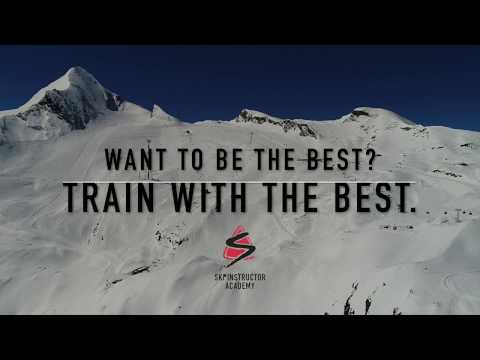 Awesome Drone Skiing Footage