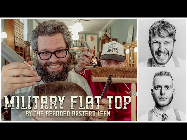 HOW TO CHOP The Military Style Flattop