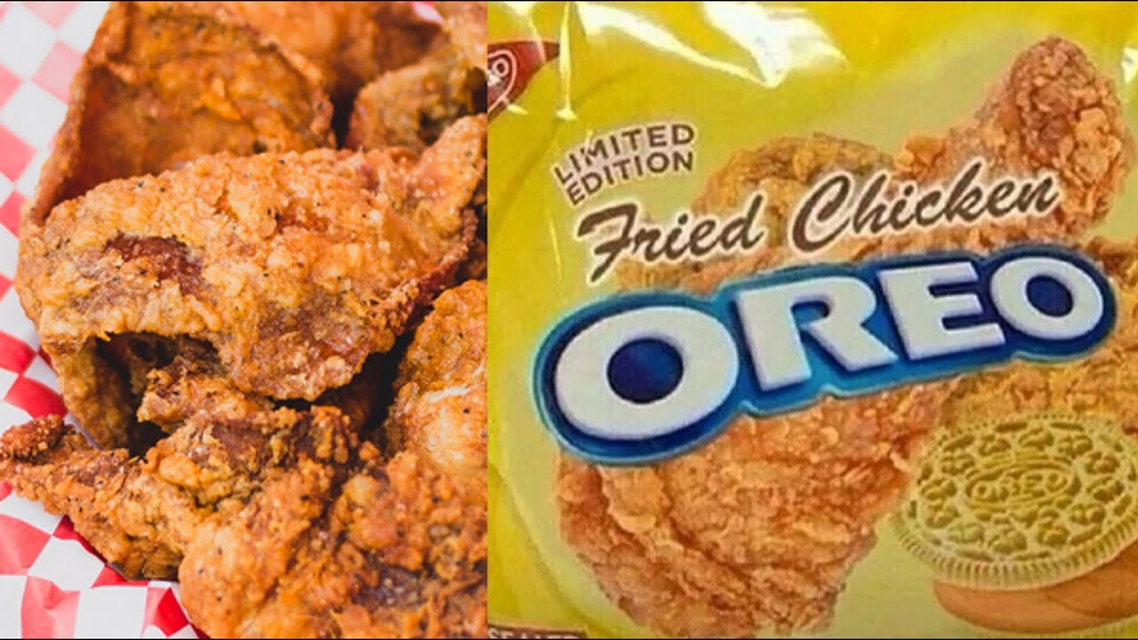 will it cookie fried chicken oreo youtube