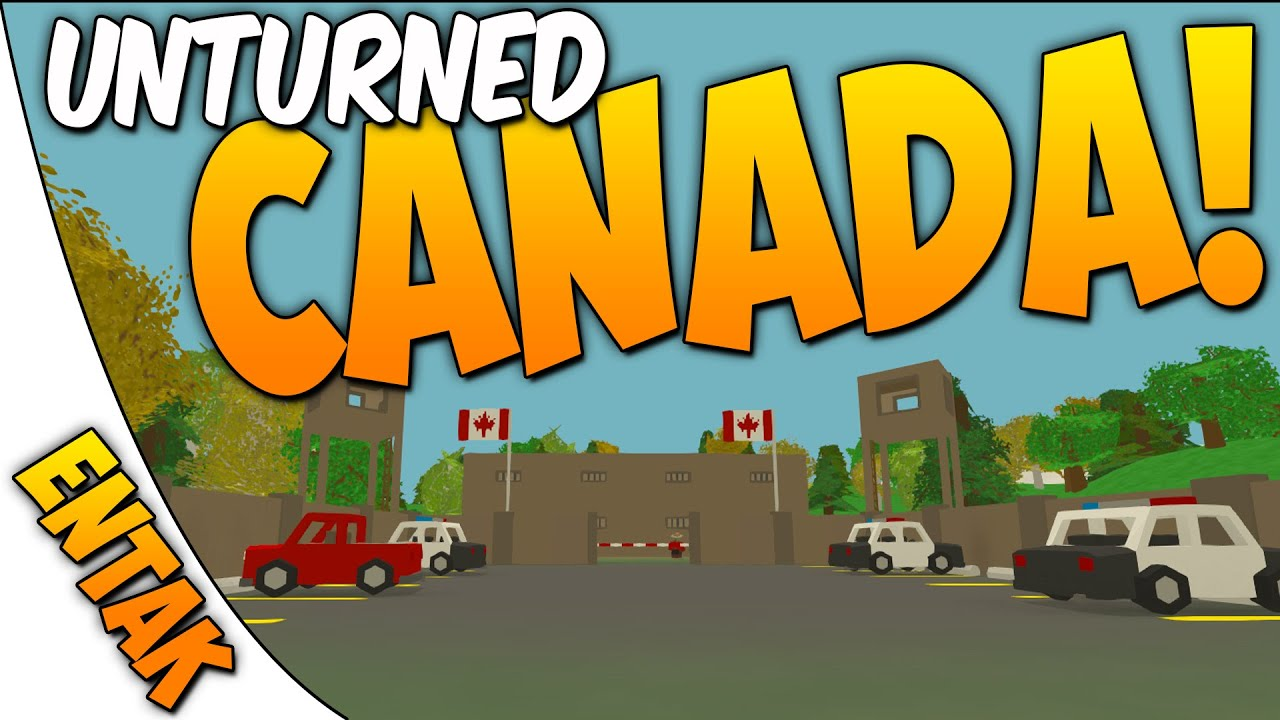 Unturned Canada Map Gameplay Prison Bunker Scorpion 7 Facility