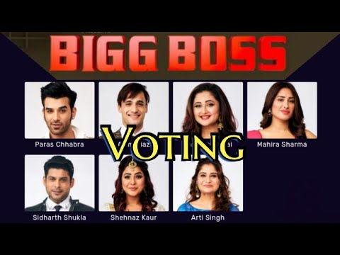Vote for your favorite Bigg Boss 13 Contestant | Bigg Boss Voting | Voting in Bigg Boss | बिग बॉस 13