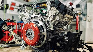 getting-my-1-500hp-twin-turbo-gt350-running-ep-1-clutch-and-trans-install