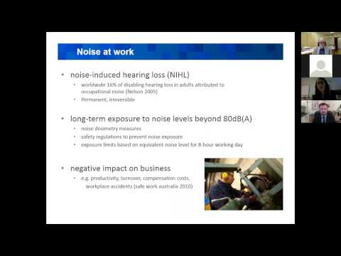 Cochrane Work webinar on interventions to prevent occupational noise induced hearing loss