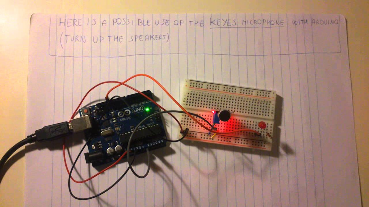 Arduino With Microphone CLAP SENSOR YouTube - Clap sensitive on off relay
