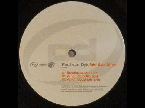{Vinyl} Paul Van Dyk  We Are A Vandit Club Mix