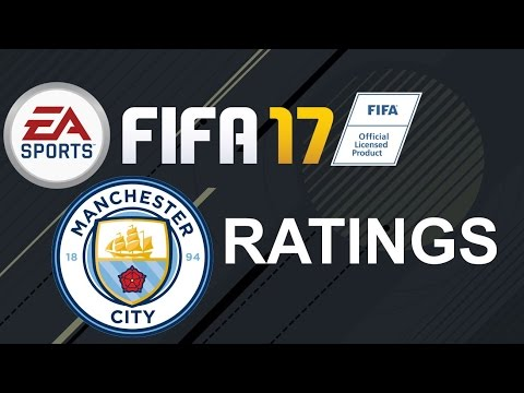FIFA 17 - Manchester City Player Ratings