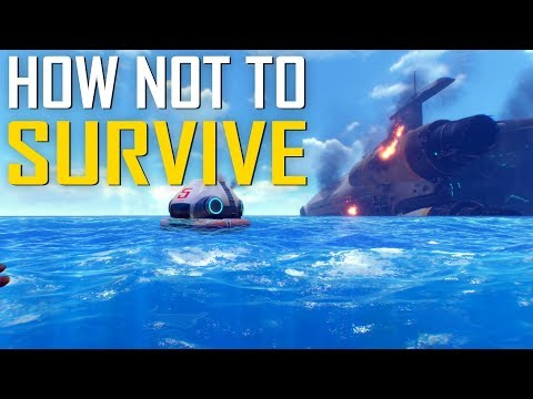 HOW NOT TO SURVIVE - Subnautica Gameplay