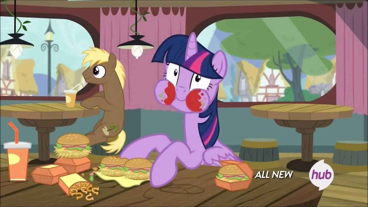 Twilight sparkle eating youtube