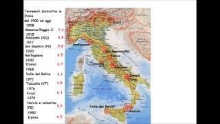 I Terremoti più catastrofici in Italia dal 1900 ad oggi