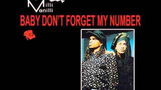milli vanilli ( baby dont forget my number ) pennsylvania six