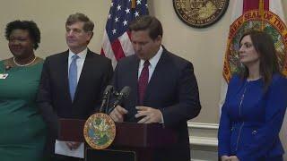 WEB EXTRA: Florida Governor Ron DeSantis' Press Conference On Coronavirus