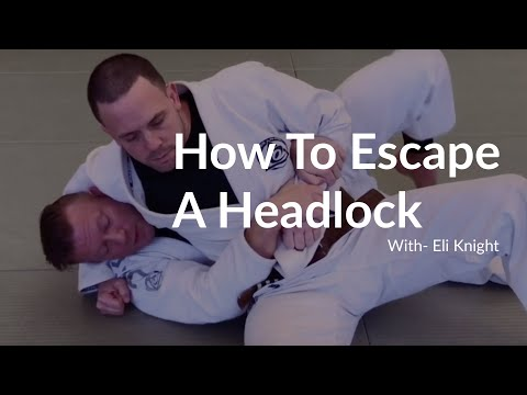 BJJ Beginners Guide: How To Escape A Headlock