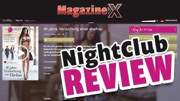 Nightclub.eu bei Magazine-X - Das Erotikportal im Review