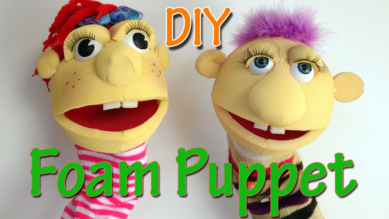 crafts to sell how to make a foam puppet diy crafts 1775