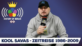 Kool Savas (Time travel 1986-2009) King of Rap, Westberlin Maskulin, Optik Records-History of Berlin