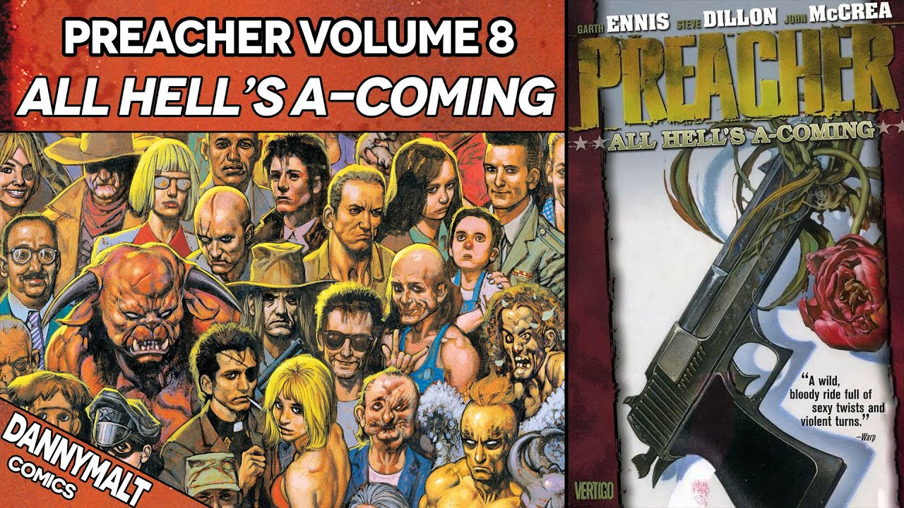 Download Preacher - Volume 8: All Hell's A-Coming (2000) - Full Comic Story & Review