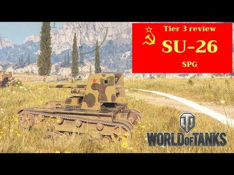World of Tanks SU-26 tank review