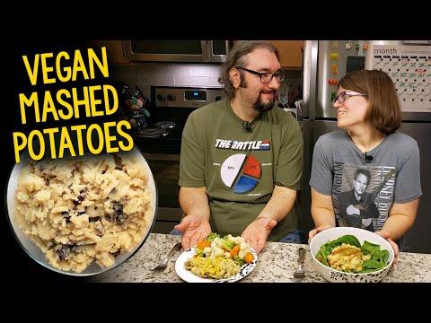 Recipe: Vegan Mashed Potatoes (Oil-Free, Fat-Free)