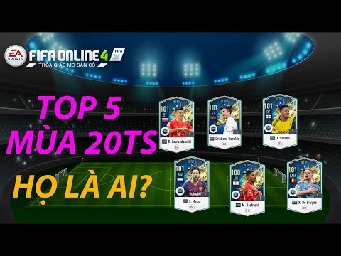THÀNH HÒA | FIFA ONLINE 4 REVIEW | TOP 5 CẦU THỦ NÊN MUA MÙA 20TS