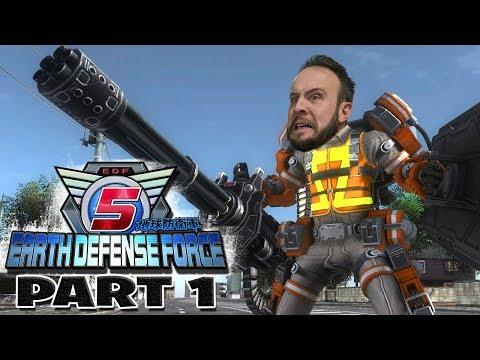Earth Defense Force 5 Part 1 - Funhaus Gameplay thumbnail