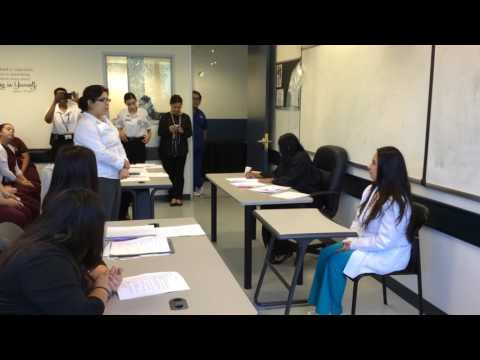 UEI College of El Monte, Criminal Justice students mock courtroom