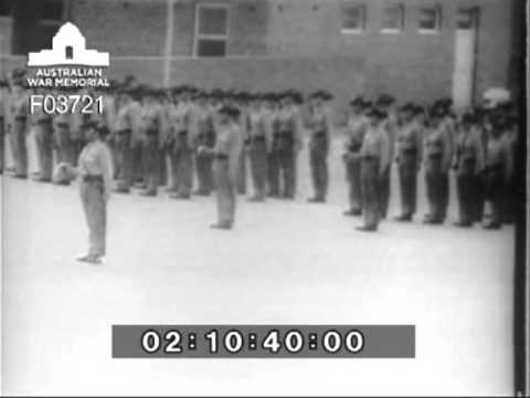Farewell Parade 1RAR 2nd tour Vietnam - 21 Mar 1965