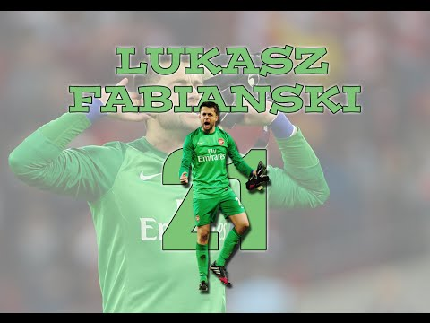 Łukasz Fabiański - Good Luck At Swansea (2013/14)