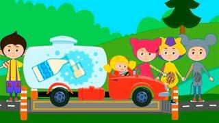 Кукутики - Дорожное Приключение | Играем в новую игру про машинки для детей