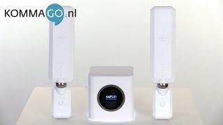 Ubiquiti AmpliFi HD WiFi Mesh Systeem Productbespreking