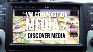 VW Discover Media Navigation und Infotainment System aus dem Passat B8/Golf 7 (Test)