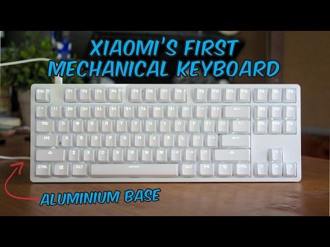 Xiaomi Yuemi MK01 Mechanical Keyboard : TTC Switches - Unboxing & Review