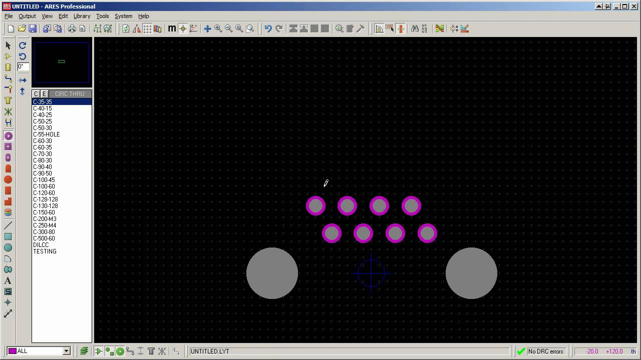 Tutorial Make A Package Footprint In Proteus Ares Hd Youtube