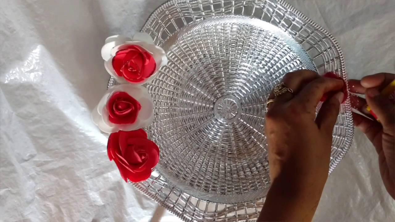 DIY Easy Puja Thali Making Idea | Raksha Bandhan Plates | Diwali Puja Thali | Craftlas - YouTube & DIY Easy Puja Thali Making Idea | Raksha Bandhan Plates | Diwali ...