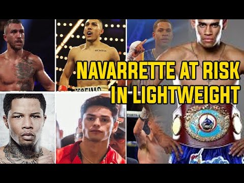 Emanuel Navarrete VS Jessie Magdaleno Official Fight for WBO featherweight title