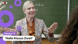 """""""Hallo klasse zwei"""". Bekijk de Duitse versie van De Luizenmoeder"""