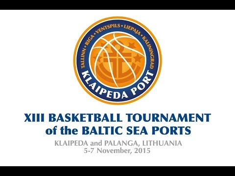 XIII BASKETBALL TOURNAMENT of the BALTIC SEA PORTS - day 1, court A