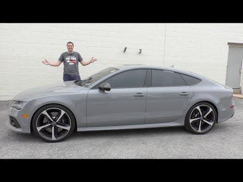 Подержанная Audi RS7 - это выгодная покупка за полцены